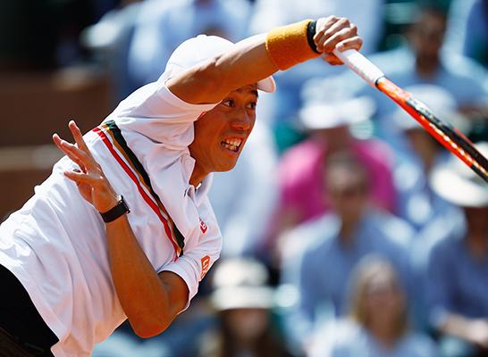 【テニス】錦織圭9位へ後退 世界ランク
