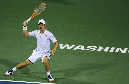 【テニス】錦織圭がアレクサンダー・ズベレフにストレートで敗れる!! ATP500シティ・オープン 準決勝【んなアホな】