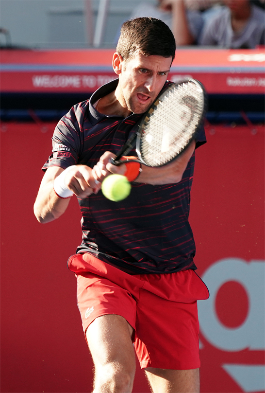ジョコ 楽天op初の決勝進出 テニスニュース テニス365 Tennis365
