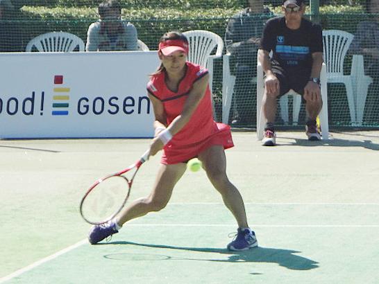 青山修子 tennis365.net