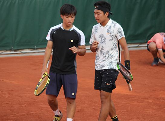 望月 慎太郎 テニス