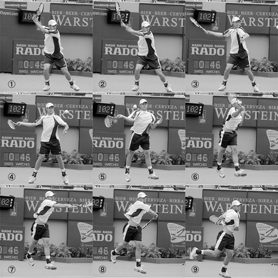 テニス オープン スタンス